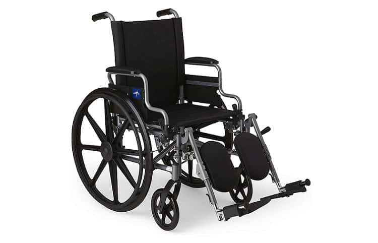 Medline Lightweight and User-Friendly Wheelchair with Flip-Back Review
